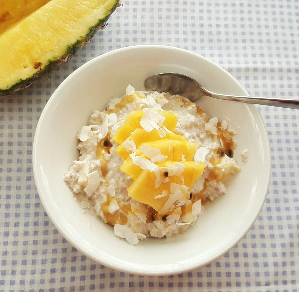 Tropical Overnight Oats; Delalicious