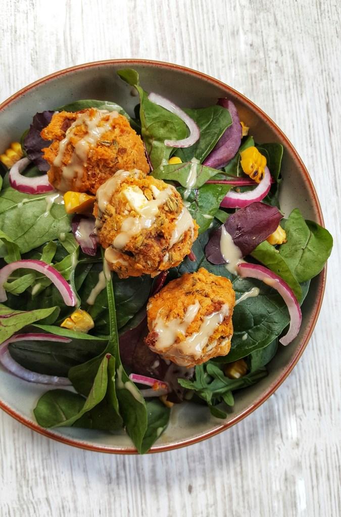 Mediterranean Squash, Chickpea & Feta Burgers; Delalicious
