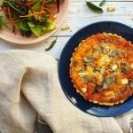 Mushroom & Sage Oat Quiche; Delalicious; Sinead Delahunty