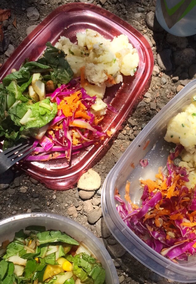 Grated Carrot, Courgette & Red Cabbage Slaw; Delalicious; Sinead Delahunty