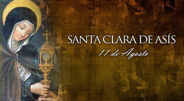 Resultado de imagen para Santa Clara de Asís