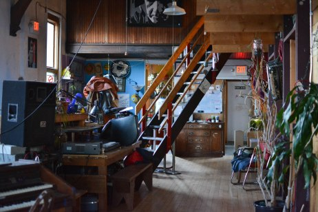"""""""The Loft"""", or home, to Noor, is an impressive and overwhelming collection of eccentricities."""