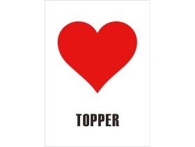 Wenskaart Topper