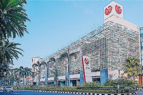 Tampilan The BnB Hotel Jakarta. (Diambil dari web dan diedit dengan VSCOCAM)
