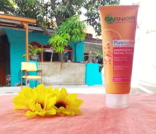 Garnier Pure Active Fruit Energizing Facial Foam