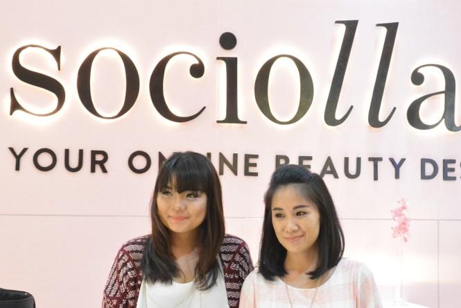 Sociolla Pop Up Plaza Indonesia Putri Kansil 3