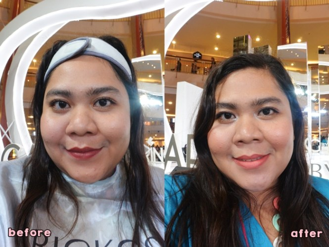 Beauty Class Before After - Beauty Talk Caring By Biokos - Delapankata