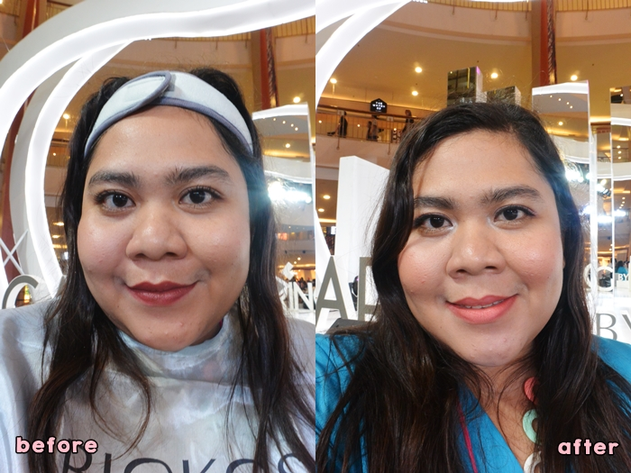 Beauty Class Before After - Beauty Talk Caring By Biokos - Delapankata