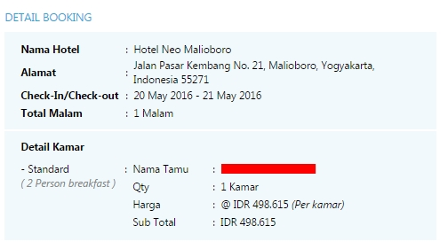Hotel Neo Malioboro - Delapankata - Mister Aladin