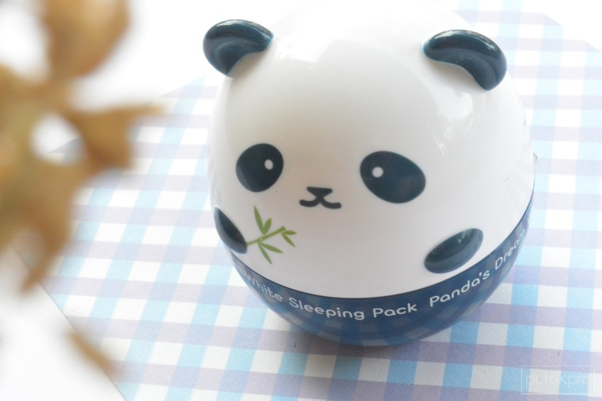 Panda Dream White Sleeping Pack Review - Delapankata PutriKPM 2