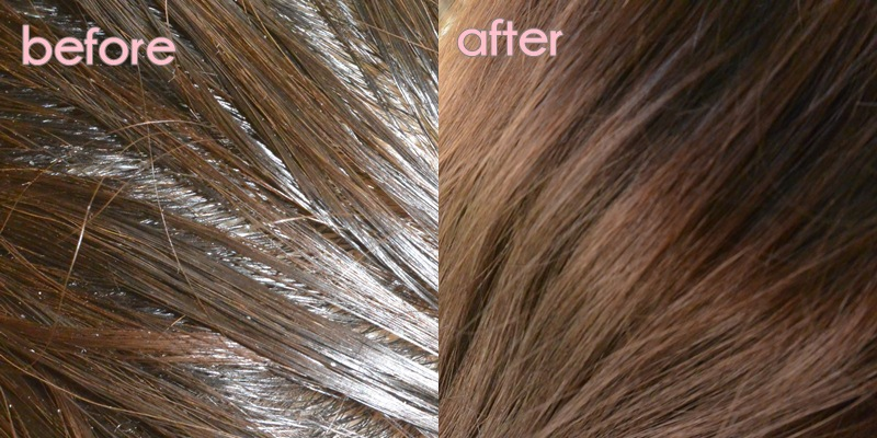 Review Furatasse Professional The Hair Care Before after apply- Delapankata