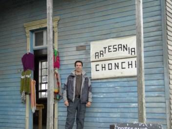 Feria artesanal en Chonchi