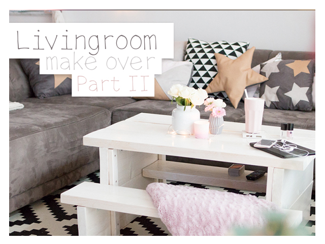 Wohnzimmer make over – Part II