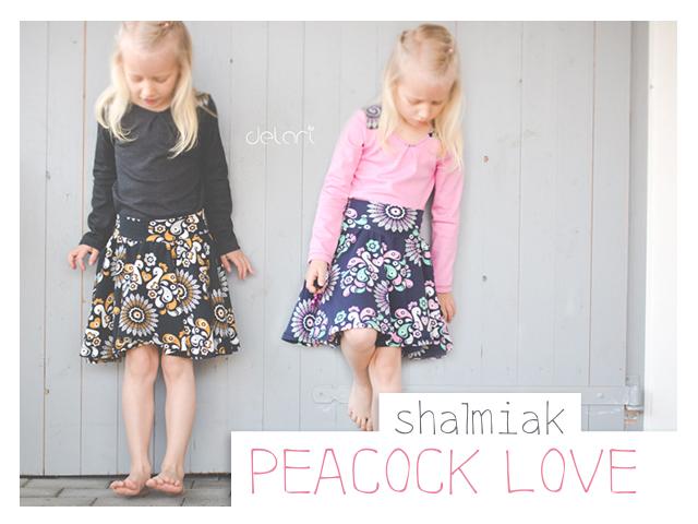 Peacock Love von Shalmiak