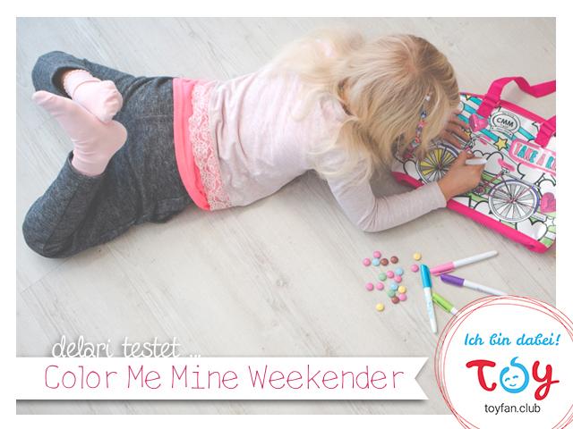 delari testet … Color Me Mine Weekender