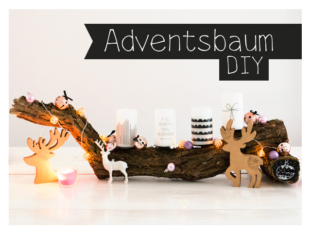 Adventsbaum DIY