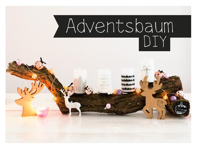 Adventsbaum DIY