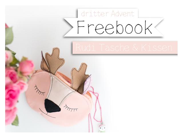 Freebook – Rudi – Kissen und Tasche