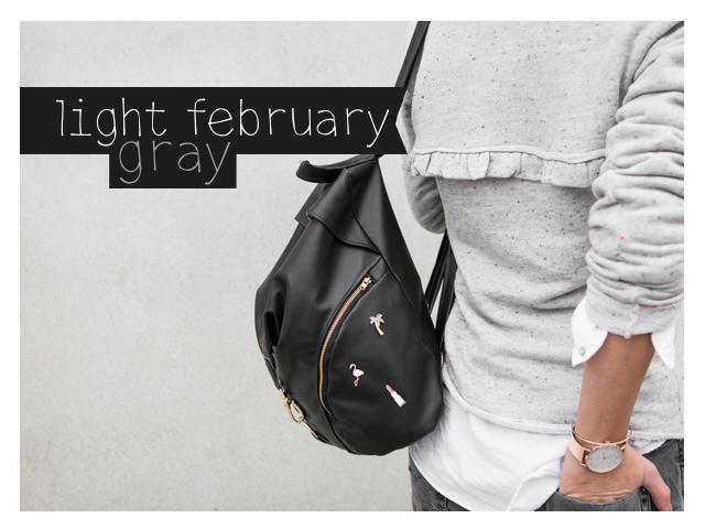 light february gray
