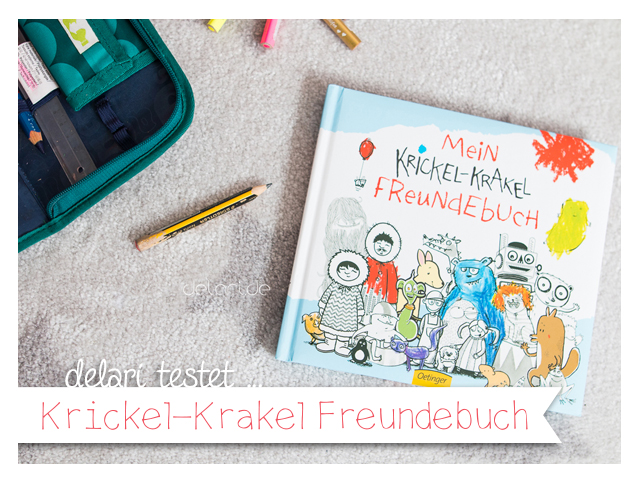 Freundschaftsbuch fuer Grundschueler – Krickelkrakel