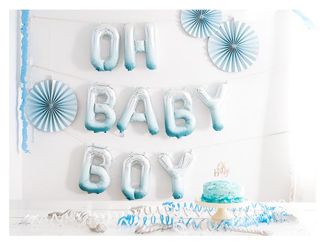 Oh Babyboy – Babyparty DIY mit Kreidefarbe