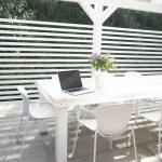 Garten Esstisch selberbauen DIY Anleitung günstig