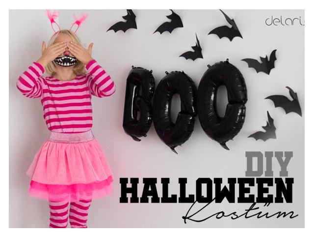 Happy Halloween Grinsekatze Kostüm DIY