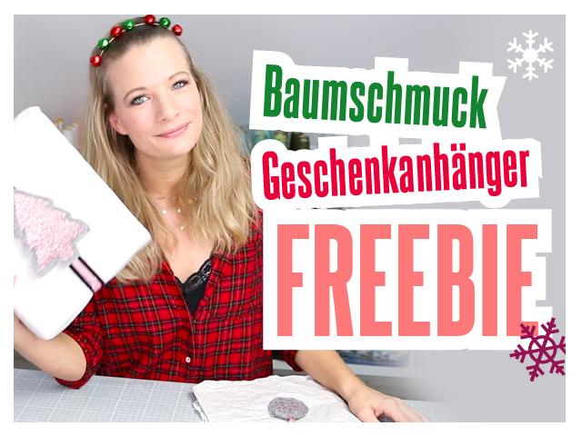 Geschenkanhänger Freebie  – Baumschuck Video