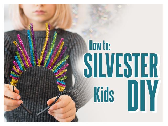Silvester DIY mit Kids