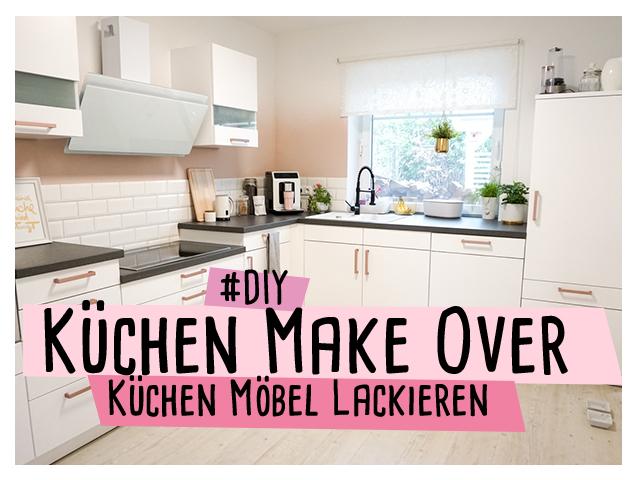 Küchen Make Over – mit Ombre-Look und Küchenmöbel lackieren