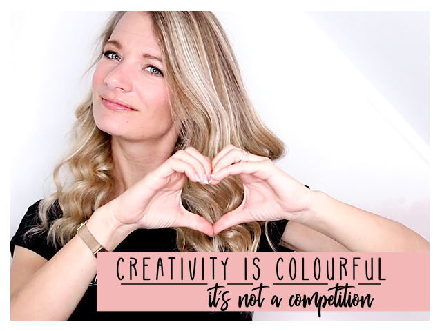 Es ist Platz für alle da – Creativity is colourfull // delari