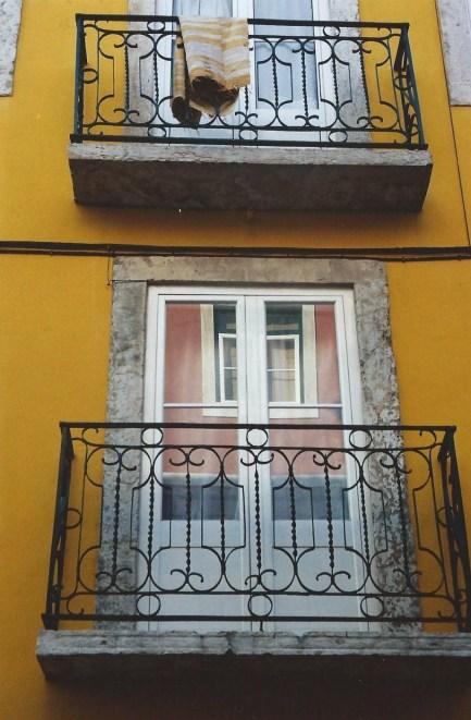 Balcon lisboète