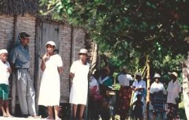 Cérémonie à Vinavao, Cap Masoala (Madagascar, octobre 2006)
