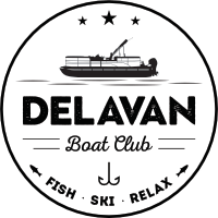 Delavan Boat Club on Delavan Lake Wisconsin
