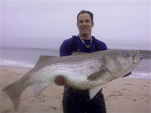 striped bass, delaware state record, Ben Smith, fall run, delaware beaches, rehoboth, dsf, dssp, state parks in delaware