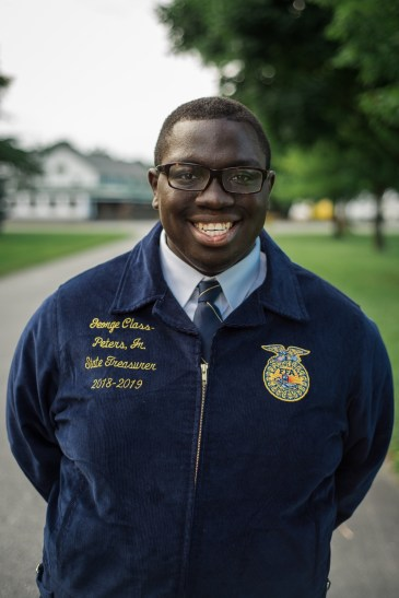 George Class-Peters Jr. Delaware FFA State Treasurer