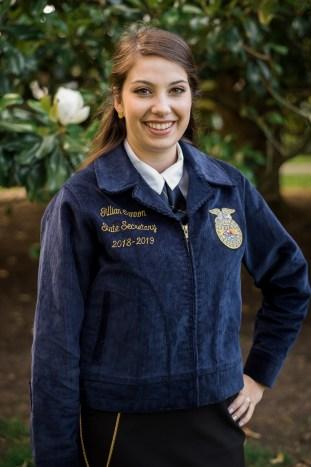 Gillian Cannon Delaware FFA State Secretary