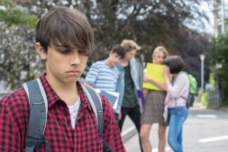 Kid getting bullied by his peers