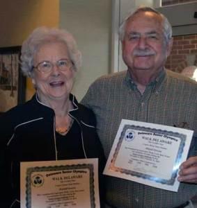 Walk Delaware Couple Honored