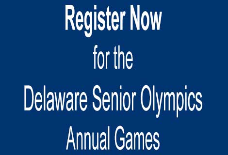 Register Now for the Delaware Senior Olympics Annual Games.