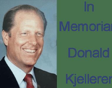In Memoriam – Donald Kjelleren