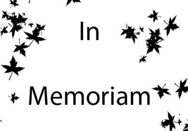 In Memoriam – Ellwood W. Mutschler, Jr.
