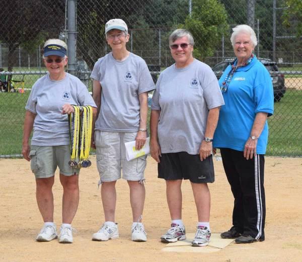 Softball volunteers