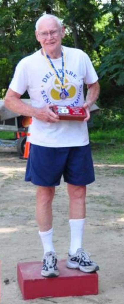 Bob Meader at a DSO Triathlon