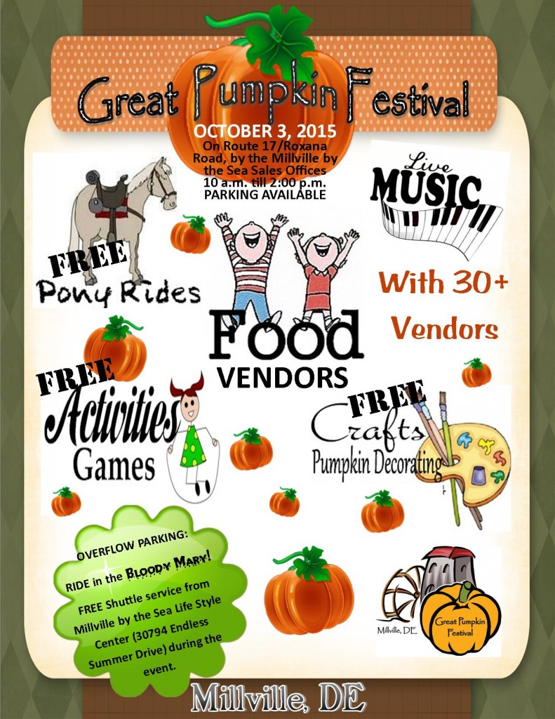 Great Pumpkin Festival Millville
