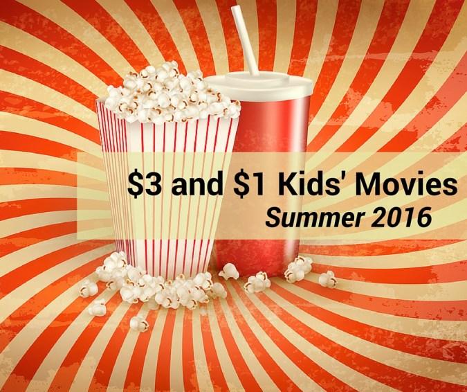 $1 summer kids movies