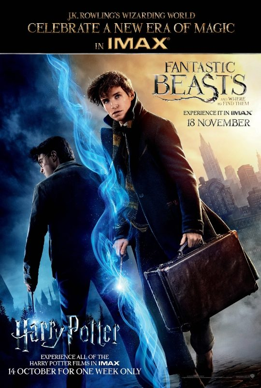 Warner Bros. Pictures' Entire Harry Potter Franchise To Be Released In IMAX Theatres For Exclusive One-Week Engagement Beginning Oct. 13 (PRNewsFoto/IMAX Corporation)