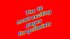 Top 10 Guitar Pages