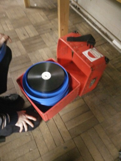 How film reels used to arrive...