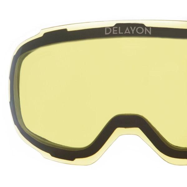 DELAYON Eyewear Explorer Lens STRONG Yellow